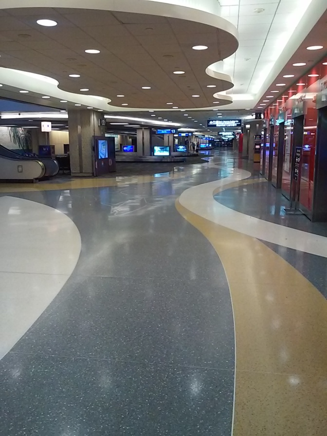 No Shows At Tampa Airport….Or Anywhere