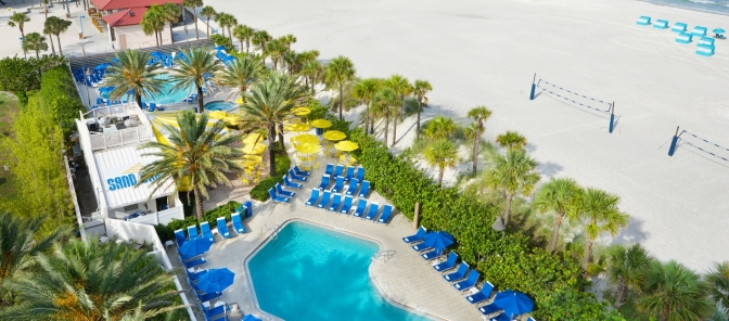 TPA>>Hilton Resort Clearwater Beach